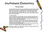 southdowns elementary tereza kean