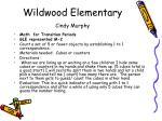 wildwood elementary cindy murphy