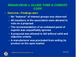indian head v allied tube conduit corp1