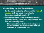justice department guidelines for licensing intellectual property1