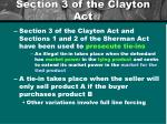 section 3 of the clayton act