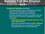section 3 of the clayton act3