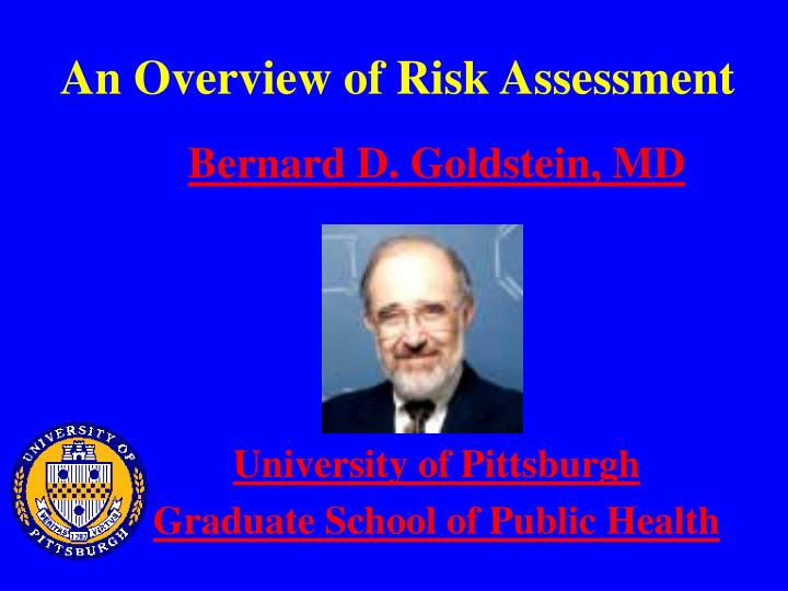 an overview of risk assessment n.