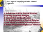 the corporate geography of global terminal operators