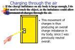 charging through the air