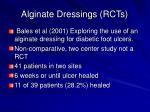 alginate dressings rcts1