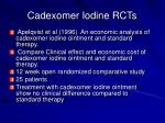 cadexomer iodine rcts