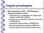 origins of antiseptics