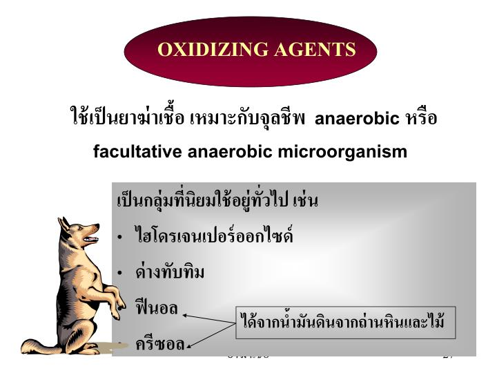 OXIDIZING AGENTS