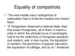 equality of compatriots