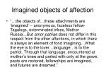 imagined objects of affection