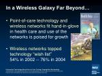 in a wireless galaxy far beyond