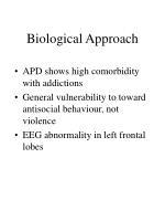 biological approach1