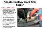 nanotechnology block seal step 7