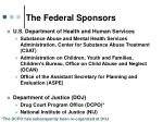 the federal sponsors