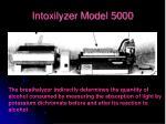 intoxilyzer model 5000