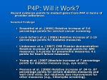 p4p will it work