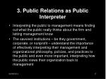 3 public relations as public interpreter