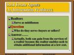 real estate agents as information producers1