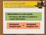 real estate agents as information producers2