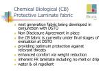 chemical biological cb protective laminate fabric