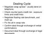 dealing cycle
