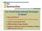 2 instruction