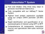 adenovator system1