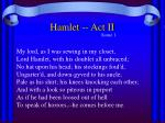 hamlet act ii1