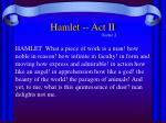 hamlet act ii4