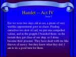 hamlet act iv10