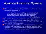 agents as intentional systems5