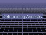 determining ancestry