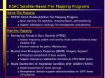 rsac satellite based fire mapping programs1
