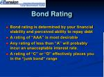 bond rating1
