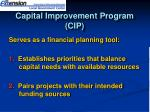 capital improvement program cip1