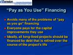 pay as you use financing1
