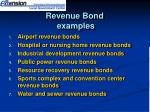 revenue bond examples