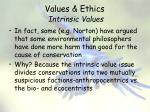 values ethics intrinsic values8