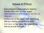 values ethics1