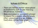 values ethics11