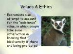 values ethics12