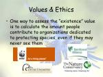 values ethics13