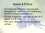 values ethics19