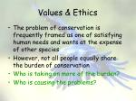 values ethics21