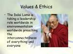 values ethics22