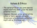 values ethics9