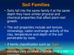 soil families