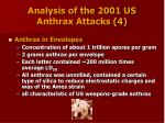 analysis of the 2001 us anthrax attacks 4