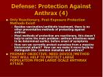 defense protection against anthrax 4
